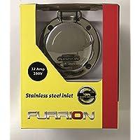 Furrion - Einspeisungsstecker, Edelstahl - 230 V - 32 A