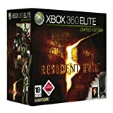 Xbox 360 - Konsole Elite Limited Edition (schwarz) inkl. Resident Evil 5