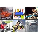 Mimir-T Kit di Emergenza Veicolo Assistenza su Strada Tool Kit Accessori Pacchetto Borsa di Soccorso per Auto Viaggio Escursionismo Sopravvivenza Caccia Campeggio Sport