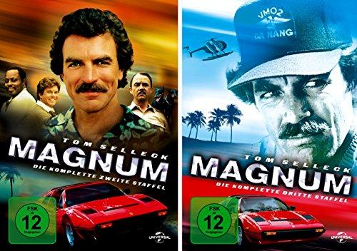 Magnum - Die komplette 2. + 3. Staffel (12-Disc | 2-Boxen) -