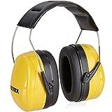 PRETEX Otoprotettore professionale, cuffie di protezione antirumore per suoni fino a 98DB, comfort elevato, peso ridotto e archetto regolabile