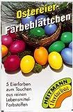 Heitmann Ostereier Färbeblättchen 5 Farben