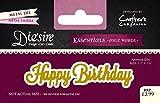Die'sire 'Essentials Only Words' Collection Cutting Dies - Happy Birthday