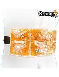 El mejor paquete de gel para su dolor de espalda. Usar frío o caliente para calentar o enfriar su espalda, la zona lumbar y el abdomen. Por Orange Physio