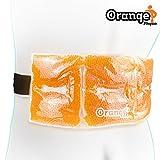 Le Meilleur Pack de Gel de Froid pour les Douleurs Lombaires (Dos) S'utilise chaud ou froid pour chauffer ou refroidir votre dos, vos lombaires ou votre abdomen. Par Orange Physio