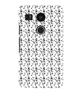 EPICCASE orchestra Mobile Back Case Cover For LG Google Nexus 5X (Designer Case)