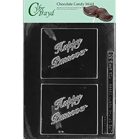 Cybrtrayd G033 Feliz Pascua tarjetas de felicitación Chocolate molde autor instrucciones de moldeo con dulces