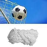 Tbest Rete da Calcio per Calcio, Rete in Fibra di Polipropilene Full Size Rete da Calcio per Calcio Ricambio Sportivo Rete per Porta da Calcio per Allenamento Sportivo(24X8FT)