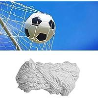 Tbest Rete da Calcio per Calcio, Rete in Fibra di Polipropilene Full Size Rete da Calcio per Calcio Ricambio Sportivo Rete per Porta da Calcio per Allenamento Sportivo(6X4FT)