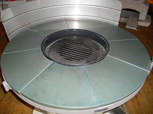 Keramikplatten 8-tlg. für ASTRA Grillkamin - WELLFIRE Ersatzteil