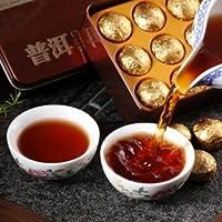 Yun Nan Black Tea Rose Fragrant Pu'er Tea Chinese Mini Puerh Tea With Gift Tin box
