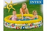 Intex Iden 3Anillo Pool Amarillo Multicolor 147x 33cm Niños
