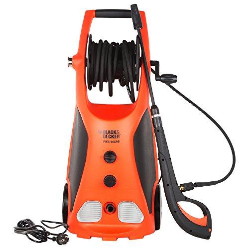 Black & Decker PW2100SPB Pressure Washer (Black and Orange)