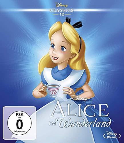 Alice im Wunderland - Disney Classics 12 (Hochglanz Pappschuber) -