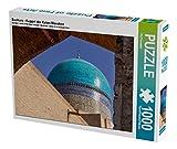 Buchara - Kuppel der Kalon-Moschee 1000 Teile Puzzle quer (CALVENDO Orte)