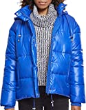 Urban Classics Damen Jacke Ladies Vanish Puffer Jacket, Blau (Royalblue 01482), Large