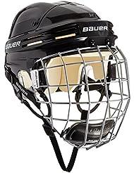Bauer Eishockeyhelm 4500 Combo mit Gitter - Casco de hockey sobre hielo, color negro, talla xl