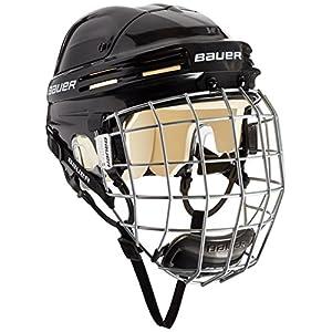 BAUER –  Eishockey Helm Combo mit Gitter 4500 I Junior & Senior I Schutzhelm für Eishockeyspieler I inkl. integriertem Profil-Gitter & Kinnschutz I robust & stabil I Eishockeyzubehör I zertifiziert
