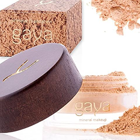 Mineral Foundation Vegan Makeup Powder - Unique 4 IN 1 MF2 Shade 100% Natural Multipurpose Full Coverage For All Skin Types - Foundation, Concealer, Powder & Sunscreen In a 9gr Jar