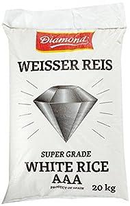 DIAMOND Weißer Reis, Langkorn 100%, 1er Pack (1 x 20 kg)
