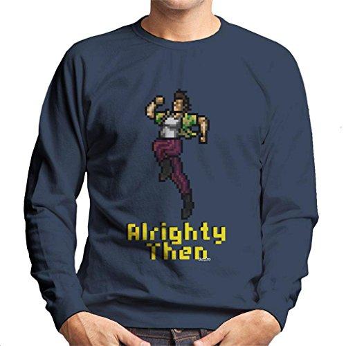 Ace Ventura Alrighty Then Pixellated Men's Sweatshirt