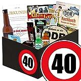 Geschenk Idee für echte Ossi Männer zum 40. - DDR Paket Männerbox |