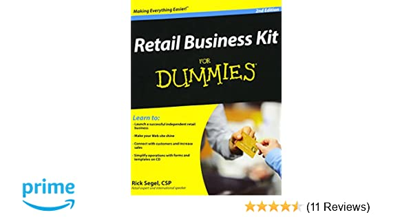 Retail business kit for dummies amazon rick segel retail business kit for dummies amazon rick segel 9780470293300 books fandeluxe Gallery