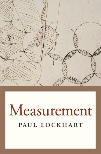 Measurement by Lockhart, Paul (2014) Paperback
