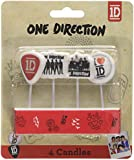 Amscan One Direction Mini Candles