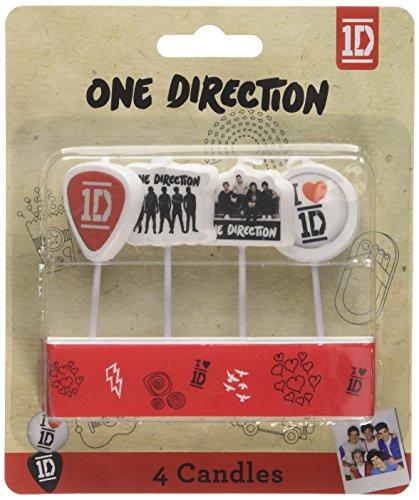 Amscan One Direction Mini-Kerzen