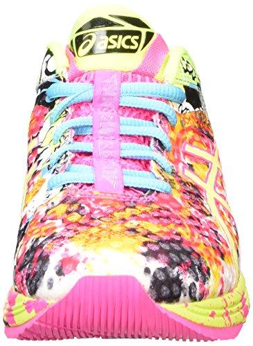Asics Gel-Noosa Tri 11, Chaussures de Running Compétition Femme Rose (hot pink/flash yellow/black 3407)