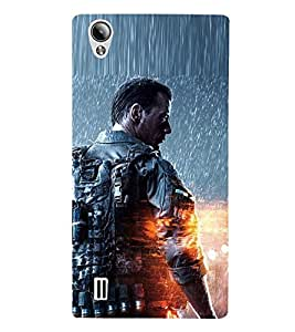 Takkloo hollywood Hero ( Actor of action, warrior of movie, man with weapon, actor in rain, muscular guy) Printed Designer Back Case Cover for Vivo Y15S :: Vivo Y15