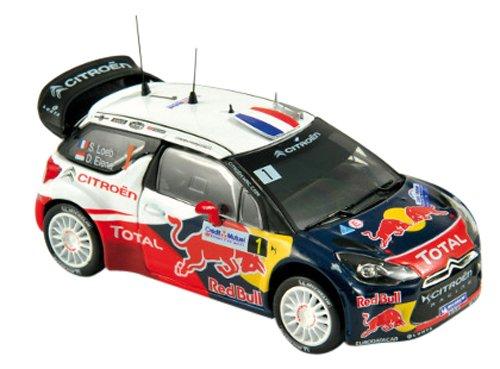 Norev - 155356 - Véhicule Miniature - Modèle À L'échelle - Citroen Ds3 WRC - Rallye De France 2012 - Echelle 1/43