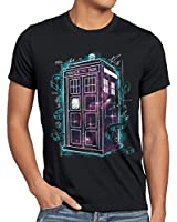 style3 Who Space Box T-Shirt Herren dalek dr police doctor