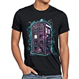 style3 Who Space Box T-Shirt Herren dalek dr police doctor, Größe:M