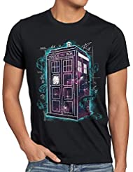 style3 Who Space Box T-Shirt Homme dalek dr police doctor
