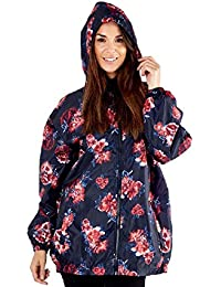 Pro Climate Womens Jacket Printed Pac A KAG Shower Proof Ladies Coat Bag  Shower Resistant eda42041a0a17