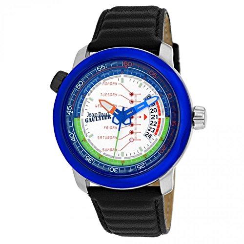 Jean Paul Gaultier Cockpit Reloj de Hombre Cuarzo 45mm Correa de Cuero 8504902