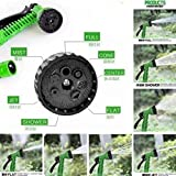 Babybasket Water Spray Gun 10 Meter Hose Pipe- House, Garden & Car Wash Hose Pipe