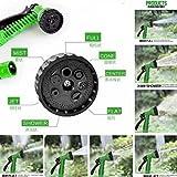 Babybasket Water Spray Gun 10 Meter Hose Pipe- House, Garden & Car Wash Hose Pipe