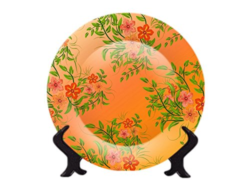 CERAMIC DECORATIVE PLATE FOR TABLE & WALL DECOR FROM COLORVISTA