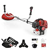 AOSOME 52cc Petrol Grass Trimmer Garden Heavy Duty Brush Cutter 2 stroke 2.2kw