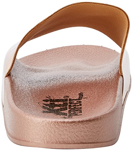 Xti 48007, Sandales Bout Ouvert Femme Rose (Nude)