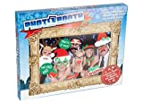 Christmas Photo Booth 24pc Posing Props & Large Picture Frame Party Accessory