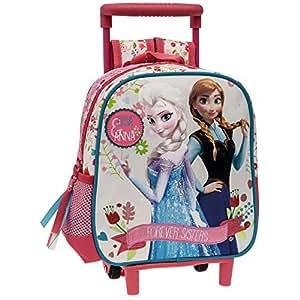 Disney 7671501 Sacs à Dos Enfants Forever Sisters la Reine des Neiges, 25 cm, (Multicolore)
