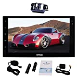 Product review for Free External Microphone + 7 Inch Android 6.0 Double Din Car Stereo GPS Navigation Head Unit Radio Audio Support 1080P Video Quad Core Wi-Fi Bluetooth AM/FM SW-Control Screen Mirroring + Backup Camera