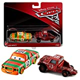 Disney Cars 3 Cast 1:55 -Sélection Véhicules Automobiles Modèles Double Pack, Cars Doppelpacks 2017:High Impact & Jimbo