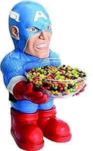 Pot a bonbons Captain America - Anniversaire - Plastique - 52cm - 086