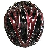 Yiyuan Fahrradhelm, Erwachsener Fahrrad-Sturzhelm-Fahrrad-Sturzhelm-Reithelm Road, Mountainbike Helm, Schwarz, Grün, Rot Farbe, M (54-58cm), in-mold,Y-29 (Rot)