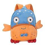 Mochila Kindergarten GENOLD Animales Bolsa Escuela Dibujos Animados para niña y niño 1-3 años